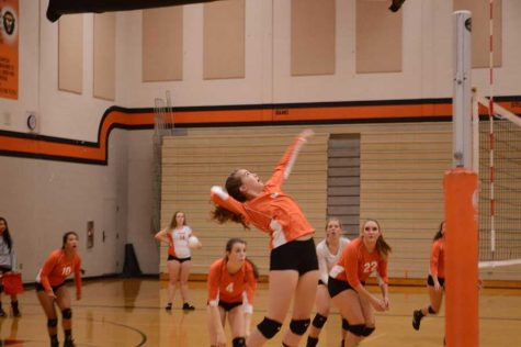 Volleyball Starts Off Strong, But Loses Their Game