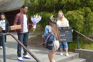 Promposals entertain with a purpose
