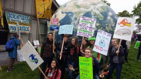 Cougs March for Science