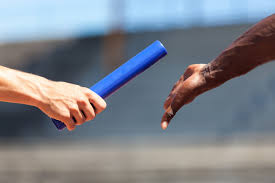 Passing the Baton to Next Year's Athletes