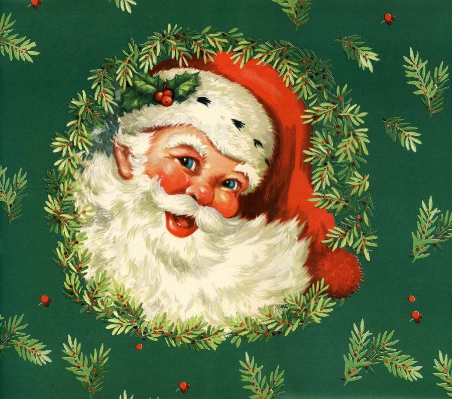 Vintage+Santa+Clip-art%2C+Happy+Holidays