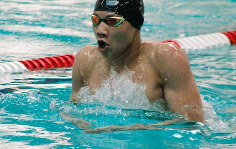 James Sanchez of Central Kitsap was named Swimmer of the Meet. He won the 200-yard individual medley in 1:58.87.