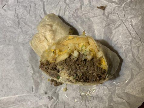 A Cali burrito from Juanito