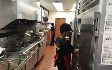 Students working at Arbys in Silverdale