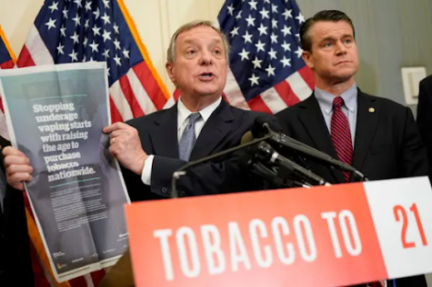 Congress promoting the age change to buy tobacco products