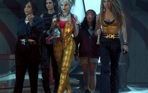 The Birds of Prey core cast from left to right; Renee Montoya (Rosie Perez), Huntress (Mary Elizabeth Winstead), Harley Quinn (Margot Robbie), Ella Jay Basco (Cassandra Cain), & Black Canary (Jurnee Smollett-Bell)