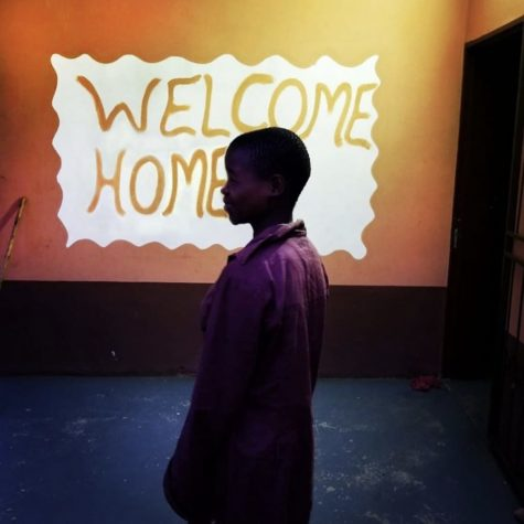A 12 year old girl being welcomed home after being liberated from Human Trafficking - Taken by Rescue Freedom