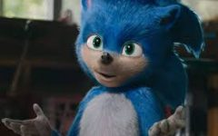 The less than appealing original design for Sonic