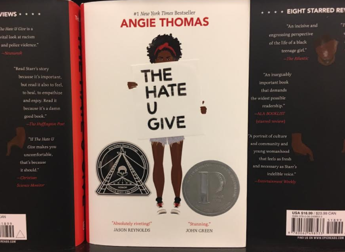 The cover of The Hate U Give. (Cover Artist is Debra Cartwright, Photo Credits to Ary Eagan)