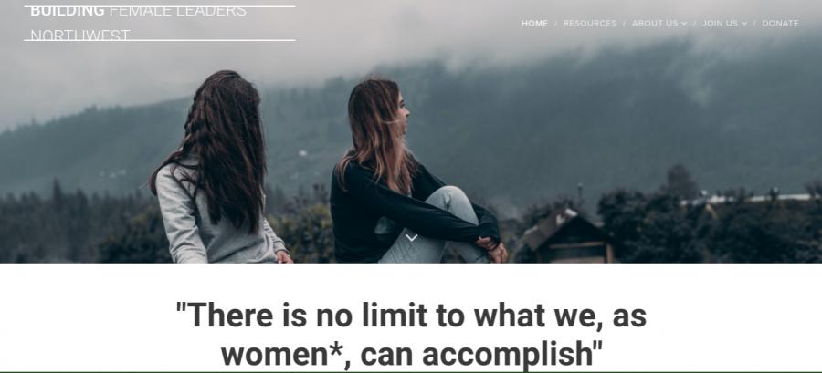 Screenshot of the BFLNW Website.