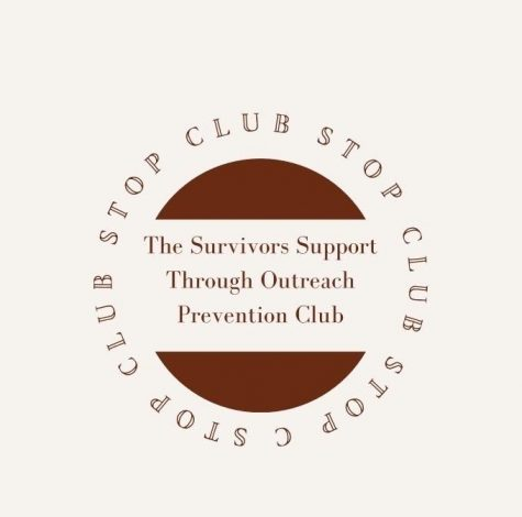 STOP club logo, designed by Sarah Ross.