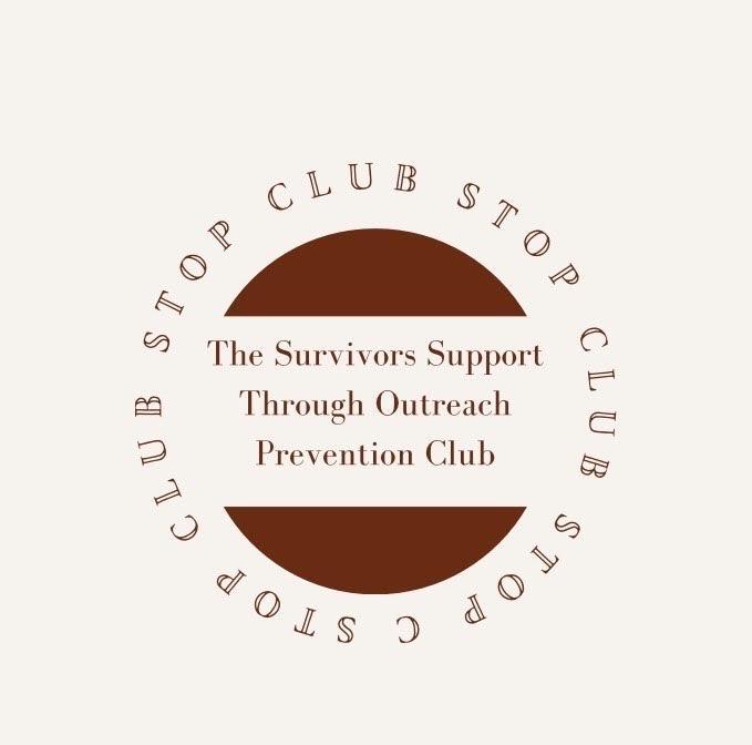 STOP club logo, designed by Sarah Ross.