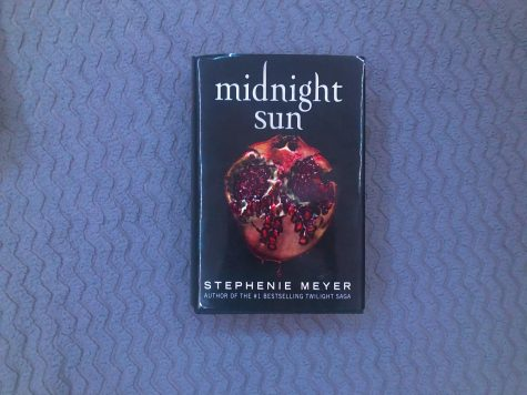 "The cover of ""Midnight Sun"" by Stephanie Meyers."