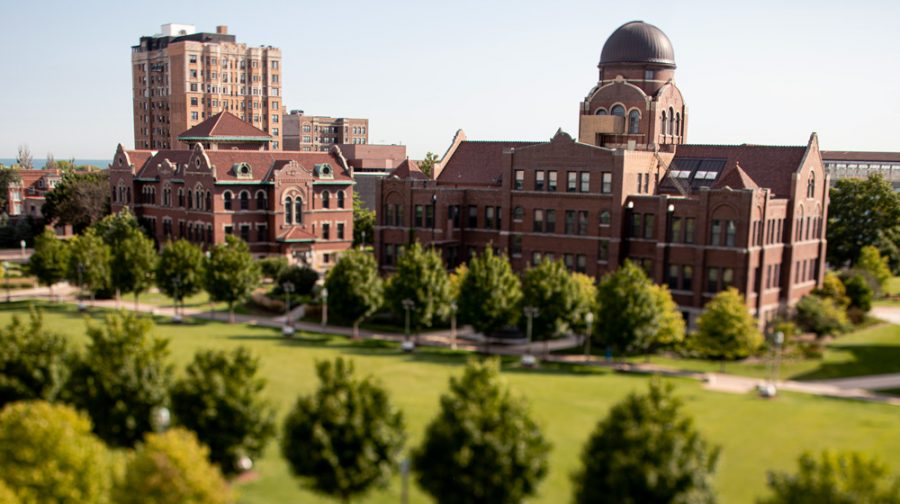 Campus of Loyola University Chicago.