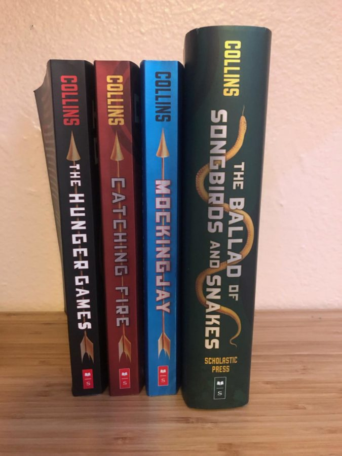 The whole Hunger Games series.